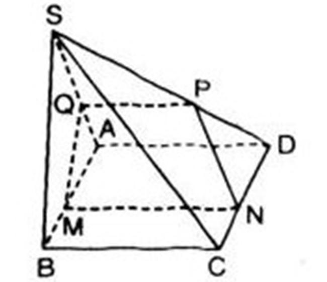 Hình vẽ bài 11 trang 80 sách giáo khoa hình học lớp 11