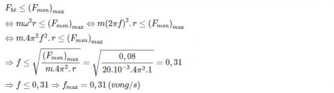 Hướng dẫn giải bài 4 trang 82 sgk Vật Lý lớp 10