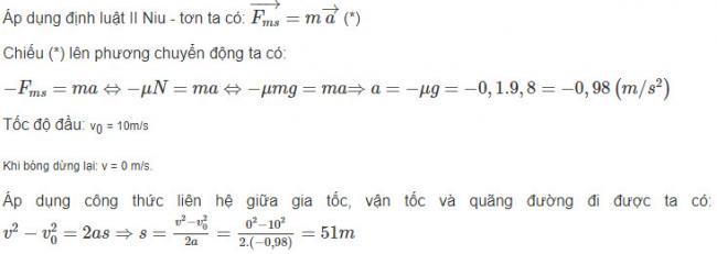 Cách giải bài 7 trang 79 sgk Vật Lý lớp 10