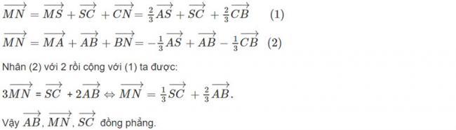 Đáp án bài 9 trang 92 SGK toán hình học lớp 11
