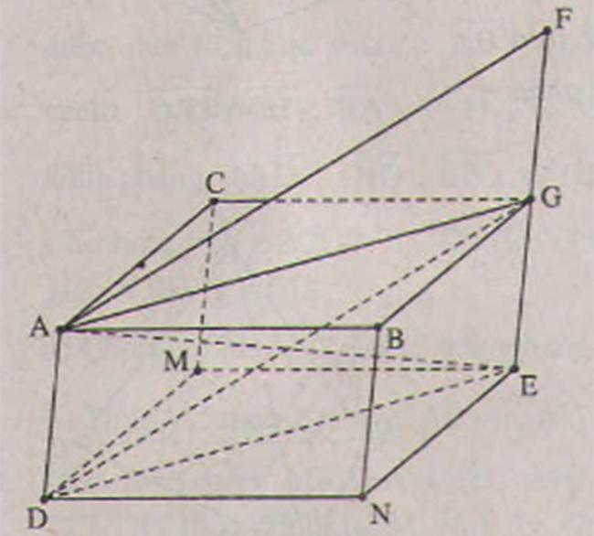 Hình vẽ bài 5 trang 92 sách giáo khoa hình học lớp 11