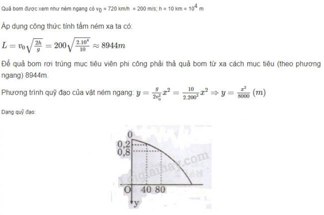 Vật Lý lớp 10 đáp án bài 5 trang 88 sgk