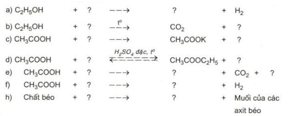 Câu hỏi bài 3 trang 149 sgk hóa lớp 9