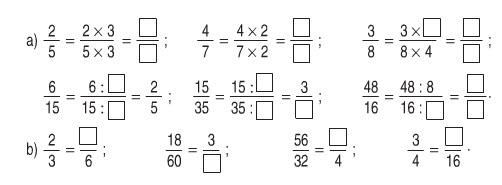 Giải bài 1 trang 112 SGK Toán 4 tiết Phân số bằng nhau