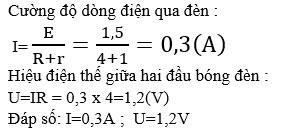 Trả lời câu hỏi C3 bài 9 SGK Vật lý 11