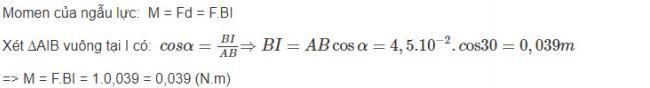 Vật Lý lớp 10 đáp án bài 6 trang 118 sgk
