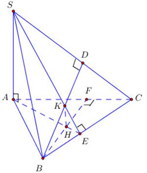 Hình vẽ bài 2 trang 119 sách giáo khoa hình học lớp 11