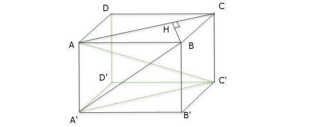 Hình vẽ bài 4 trang 119 sách giáo khoa hình học lớp 11