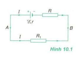 câu hỏi C1 Bài 10 SGK Vật Lý 11