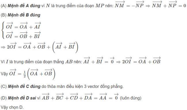 Đáp án bài 2 trang 122 SGK toán hình học lớp 11