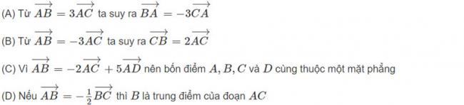 Đề bài 1 trang 122 sách giáo khoa hình học lớp 11