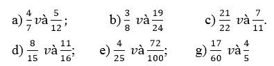 Giải bài 2 trang 116 SGK Toán 4 tiết Quy đồng mẫu số các phân số (tiếp theo) 1
