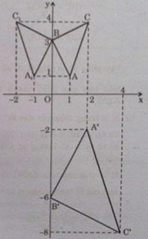 Hình vẽ bài 1 trang 125 sách giáo khoa hình học lớp 11 câu e