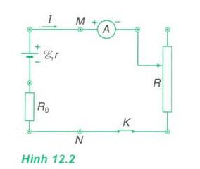 Xác định suất điện động và điện trở hình ảnh 1