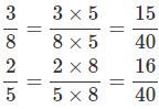 Giải bài 3 trang 122 SGK Toán 4 tiết So sánh hai phân số khác mẫu số 3