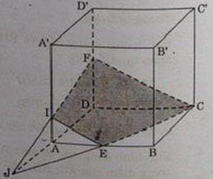 Hình vẽ bài 5 trang 126 sách giáo khoa hình học lớp 11 ảnh 2