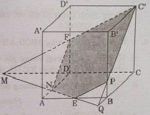 Hình vẽ bài 5 trang 126 sách giáo khoa hình học lớp 11 ảnh 4