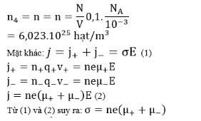 Đáp án bài 10 trang 85 SGK Vật lý 11 1