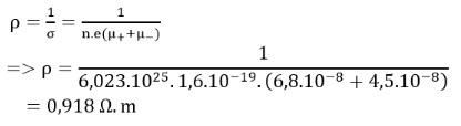 Đáp án bài 10 trang 85 SGK Vật lý 11 2