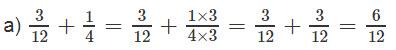 Giải bài 2 trang 127 SGK Toán 4 tiết Phép cộng phân số (tiếp theo) 1