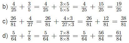 Giải bài 2 trang 127 SGK Toán 4 tiết Phép cộng phân số (tiếp theo) 2