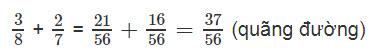 Giải bài 3 trang 127 SGK Toán 4 tiết Phép cộng phân số (tiếp theo) 5