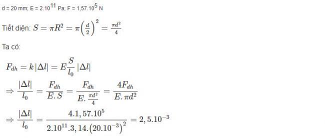 Hướng dẫn giải bài 9 trang 192 sgk Vật Lý lớp 10