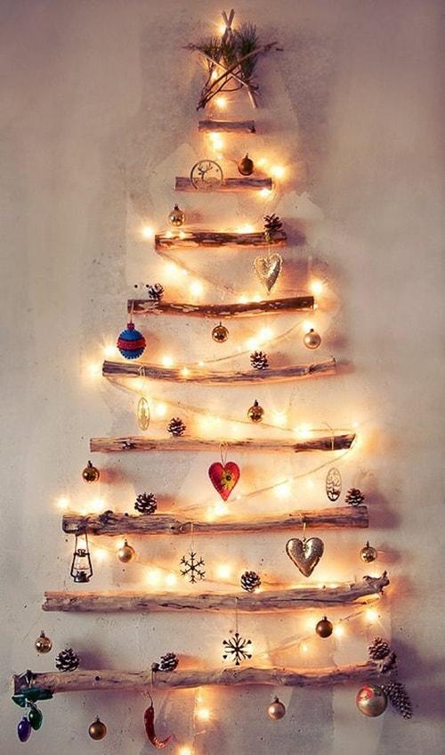 trang trí Noel bằng đèn nháy