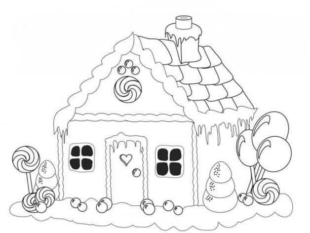 Tranh tô màu chủ đề bánh kẹo ngày giáng sinh cho bé ảnh 2