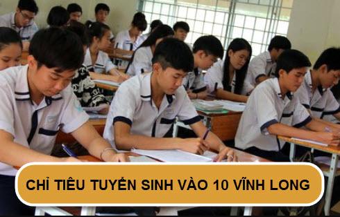 Chỉ tiêu tuyển sinh vào lớp 10 năm 2020 tại Vĩnh Long