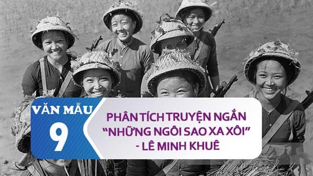 Phan tich truyen ngan Nhung ngoi sao xa xoi cua Le Minh Khue