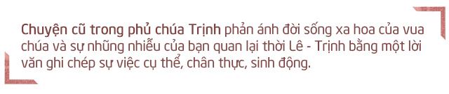 Ghi nhớ chuyện cũ trong phủ chúa Trịnh