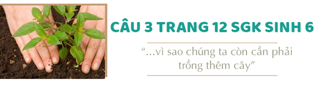 Câu 3 trang 12 SGK Sinh học 6