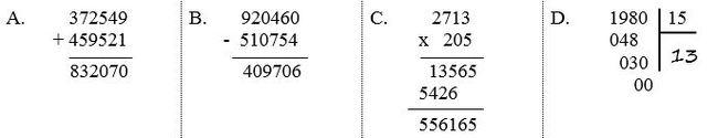 Đề thi học kì 1 lớp 4 môn Toán đề số 1 có đáp án ảnh 4