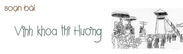 Soạn bài Vịnh khoa thi Hương - Trần Tế Xương