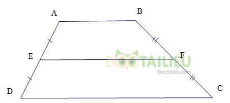 Lý thuyết Đường trung bình của tam giác, của hình thang ảnh 2