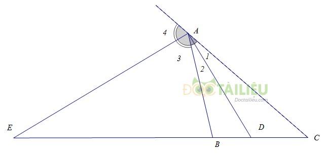 Tính chất đường phân giác của tam giác: Lý thuyết và các dạng bài thường gặp 1