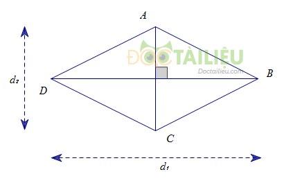 Tổng hợp lý thuyết diện tích hình thoi ảnh 2