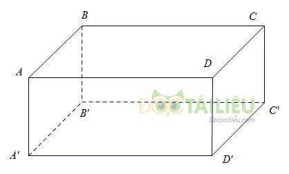 Hình hộp chữ nhật: Lý thuyết và cách làm các dạng bài thường gặp ảnh 4