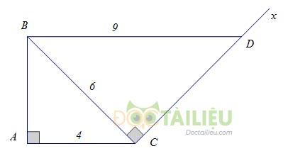 Lý thuyết các trường hợp đồng dạng của tam giác vuông ảnh 3