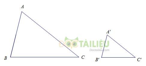 Lý thuyết trường hợp đồng dạng thứ nhất và các dạng bài thường gặp ảnh 2