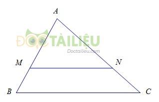 Tổng hợp lý thuyết chương 3 phần Hình học: Tam giác đồng dạng ảnh 1