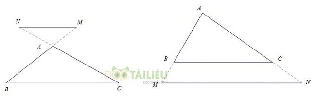 Tổng hợp lý thuyết chương 3 phần Hình học: Tam giác đồng dạng ảnh 2