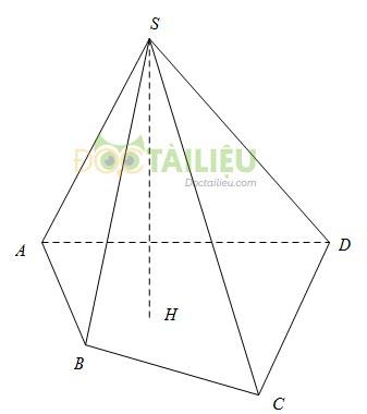 Lý thuyết chương 4 phần Hình học: Hình lăng trụ đứng, hình chóp đều ảnh 2