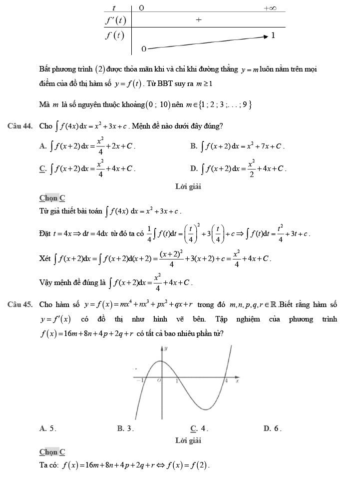 Giải đề thi thử môn Toán 2020 phát triển theo đề minh họa số 1 trang 15