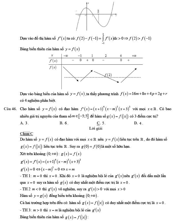 Giải đề thi thử môn Toán 2020 phát triển theo đề minh họa số 1 trang 16