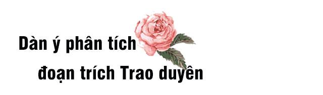 Dàn ý phân tích đoạn trích Trao duyên trong Truyện Kiều - Nguyễn Du
