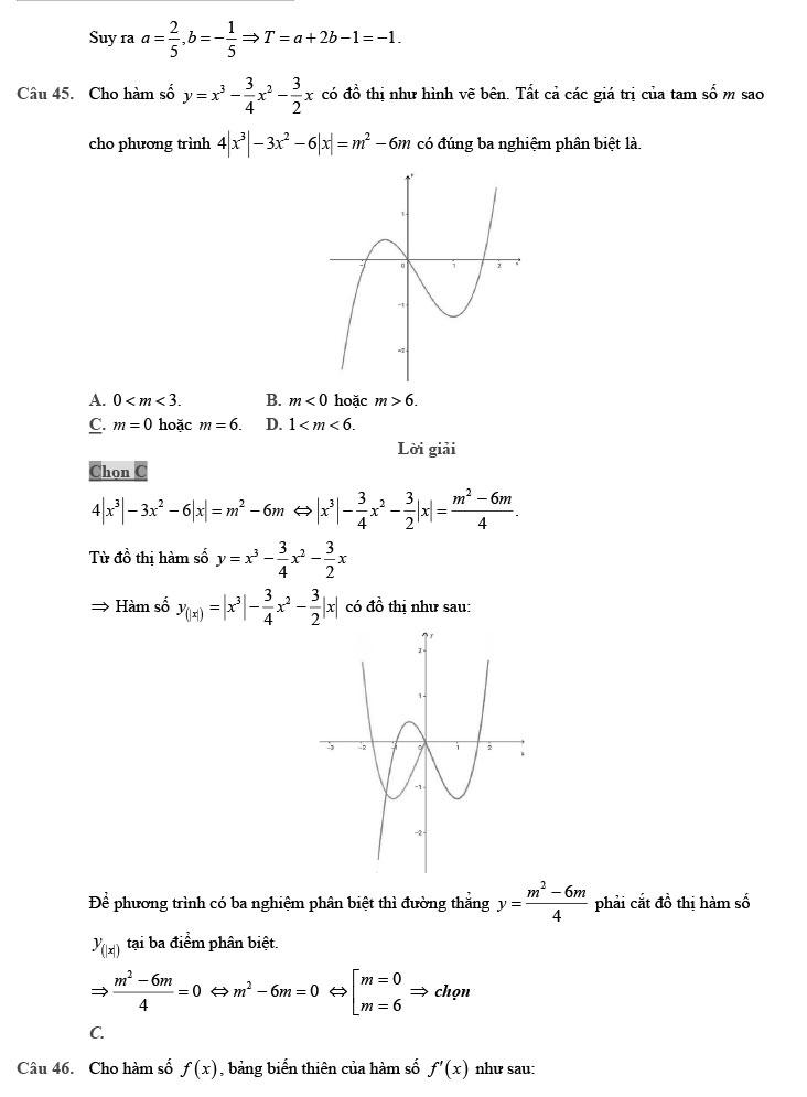 giải đề thi thử môn Toán 2020 phát triển theo đề minh họa số 8 trang 16