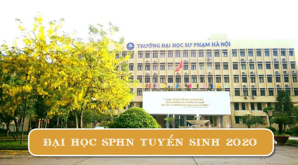 Đại học Sư phạm Hà Nội tuyển sinh 2020