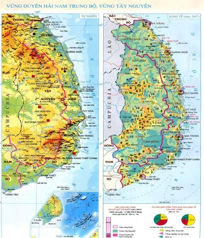 Atlat Địa lí Việt Nam trang 28